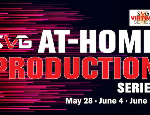 Sportzcast's Mike Connell to participate in the SVG At Home Production Series airing June 4th